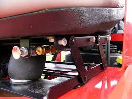 picture of air ride suspension seat