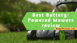 featured image for best battery powered mowers