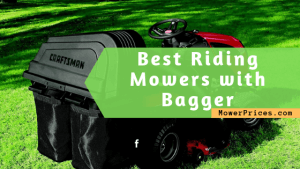 featured image for best riding mowers with bagger capacity
