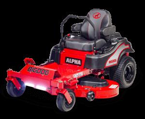 picture of bigdog's alpha mower
