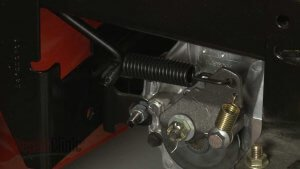 picture of a mowers brake