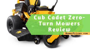 featured image for cub cadet mowers review
