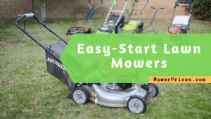 featured image for easy start lawn mowers