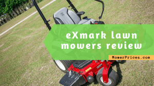 feature image for exmark mowers review