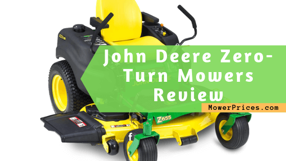 featured image for john deere zeroturn mower