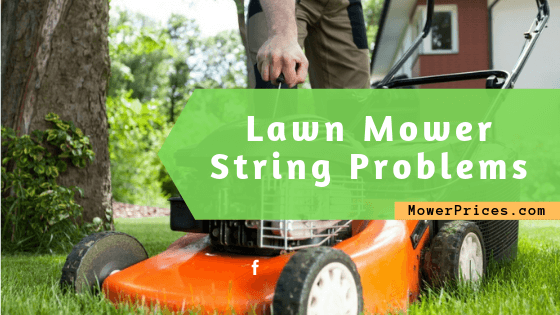 feature image for lawn mower string problems