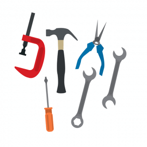 illustration of tools