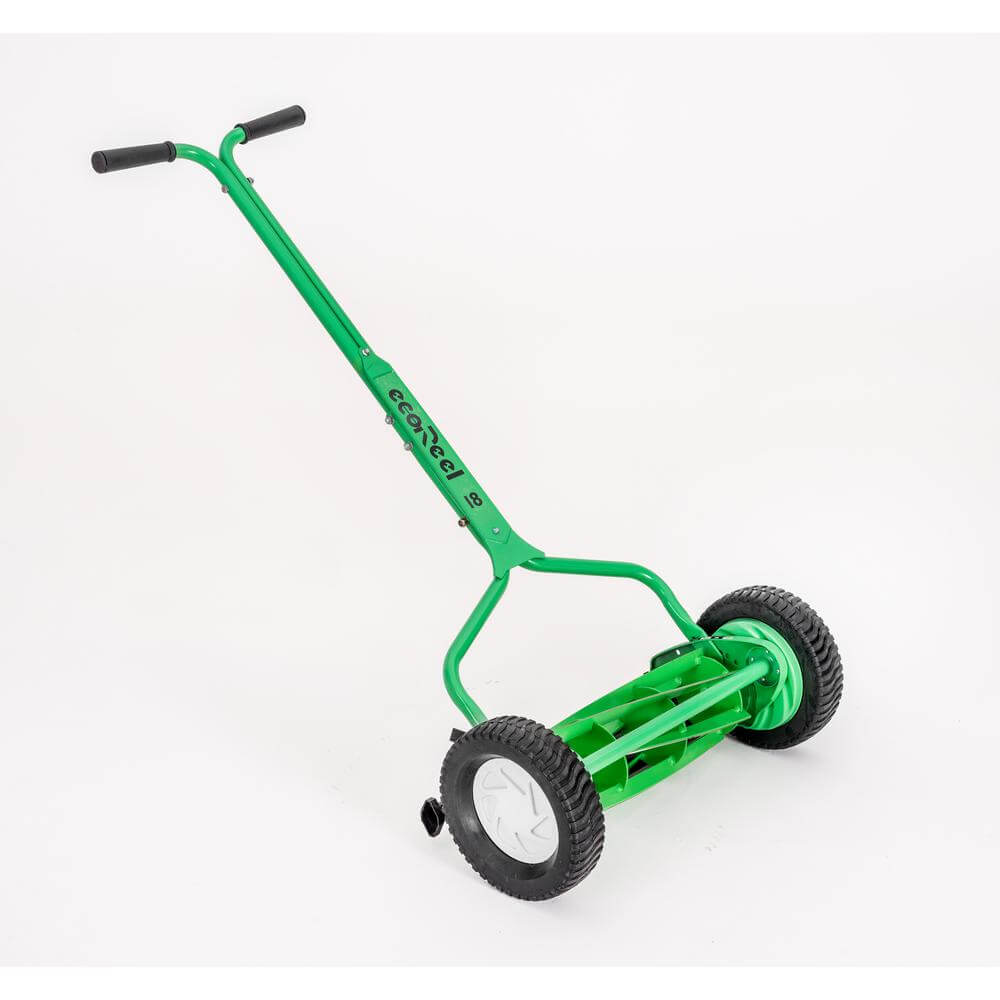 picture of a push reel mower
