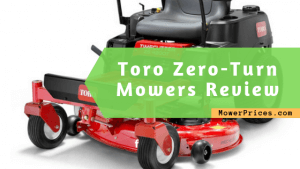 featured image for toro zero turn mowers review