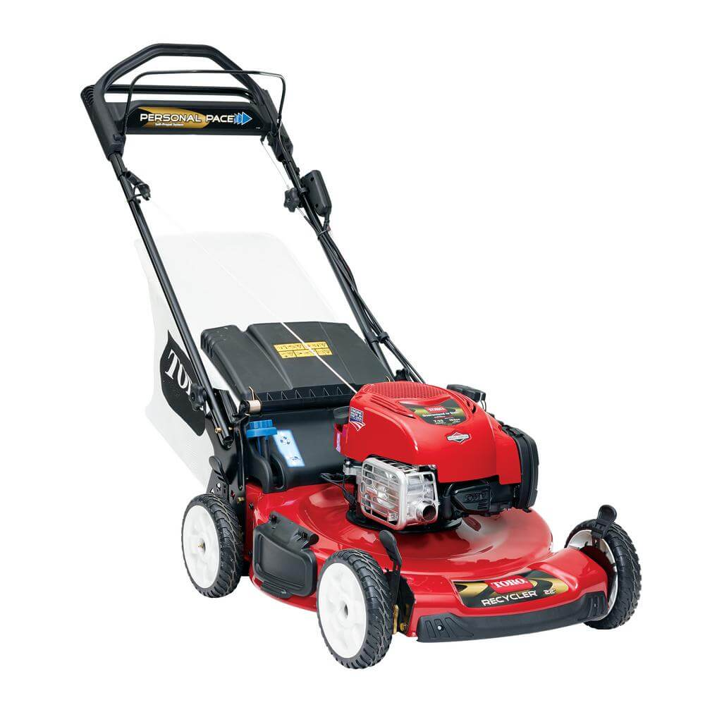 picture of a walk-behind power mower