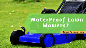 featured image for waterproof lawn mowers article