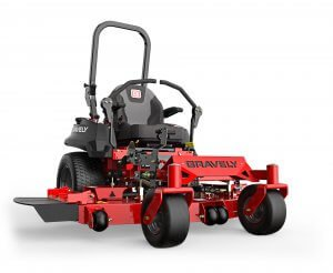 image of a gravely mower