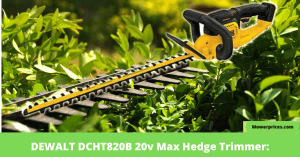DEWALT DCHT820B 20v Max Hedge Trimmer: