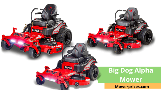 Big Dog Alpha Mower