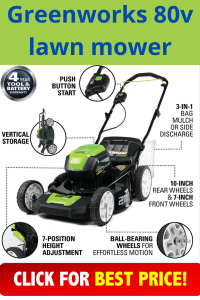 greenworks 80v lawn mower