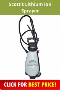 Scott's Lithium Ion Sprayer