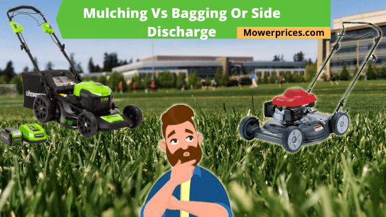 mulching vs side discharge