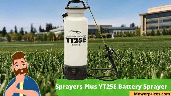yt25e battery sprayer